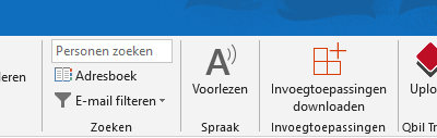 Outlook add-in voor Qbil Trade
