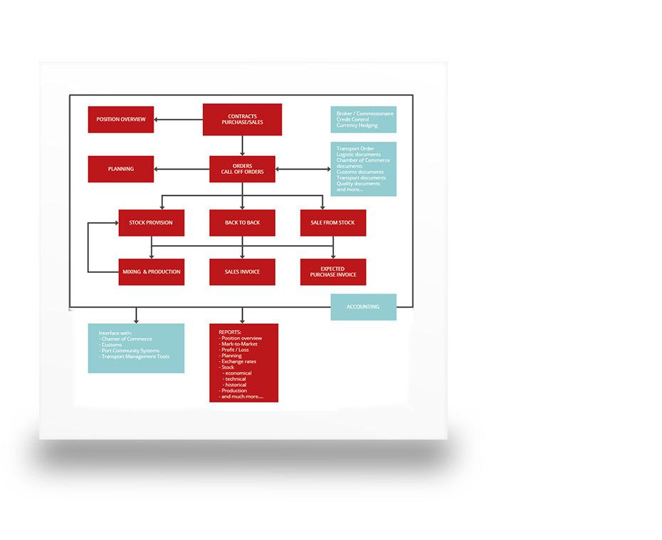 erp software processing scheme