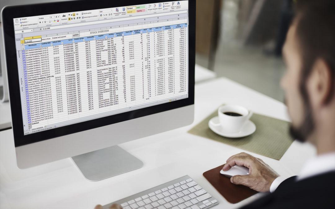 Wildgroei aan Excel lijstjes?