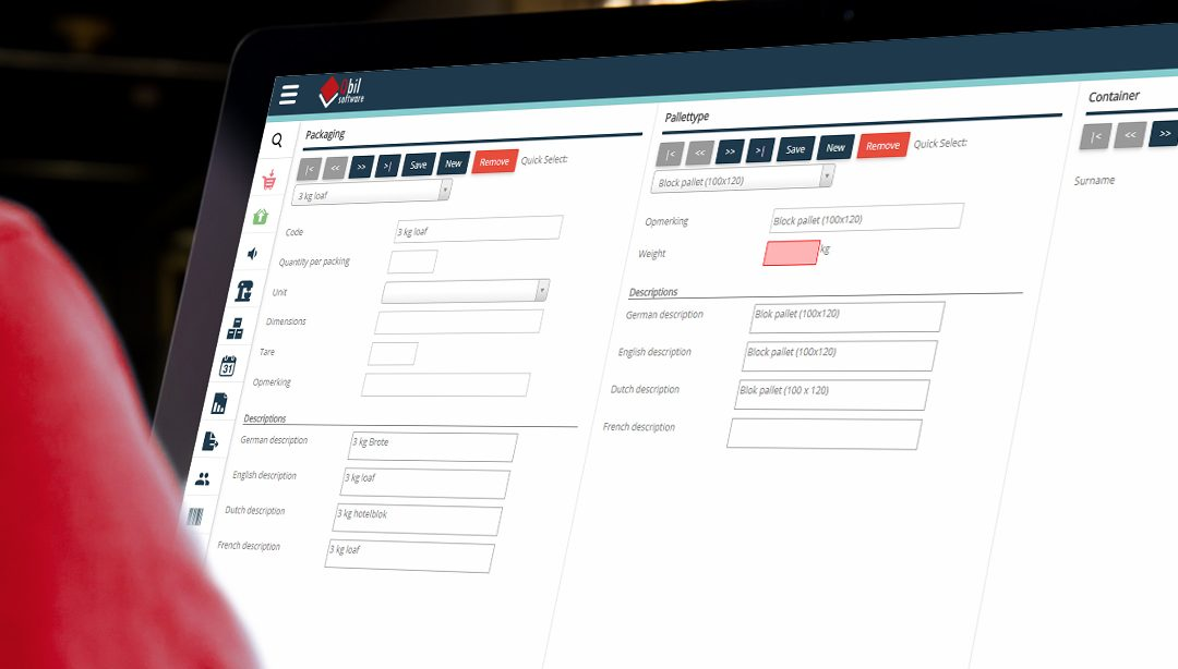Nieuw design Qbil-Trade software